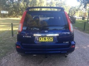 2002 Nissan X-Trail T30 TI (4x4) Blue 4 Speed Automatic Wagon Coonamble Coonamble Area Preview