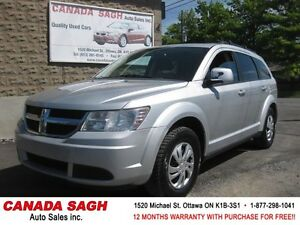 2009 Dodge Journey SXT V6 (7PASS), 12M.WRTY+SAFETY $6990