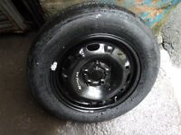 VOLKSWAGEN POLO BRAND NEW WHEEL & TYRE DUNLOP 165/70/R14**CAN POST**