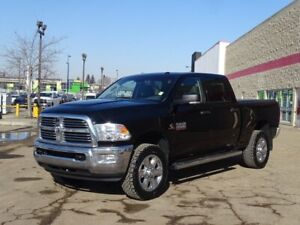 2014 Ram 2500 4WD CREWCAB SLT Diesel,  Accident Free,  Back-up C