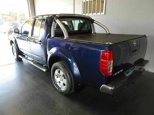 2006 Nissan Navara D40 ST-X (4x4) Blue 5 Speed Automatic Dual Cab Pick-up Woodridge Logan Area Preview