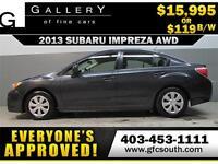 2013 SUBARU IMPREZA AWD *EVERYONE APPROVED* $0 DOWN$119/BW!