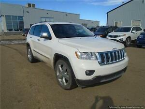 2012 Jeep Grand Cherokee 2012 Jeep Grand Cherokee Overland White