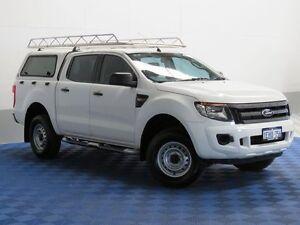 2013 Ford Ranger PX XL 2.2 HI-Rider (4x2) White 6 Speed Automatic Crewcab East Rockingham Rockingham Area Preview