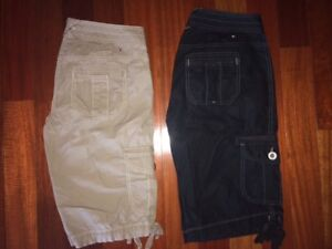 2 Pairs of BRAND NEW Tommy Hilfiger Womens Shorts (Small