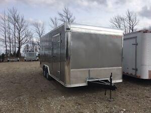 102 x 18 Enclosed Cargo Trailer 2018