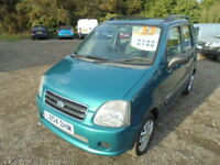 Suzuki Wagon R 1.3 GL. AUTOMATIC, LOW MILES (green) 2004