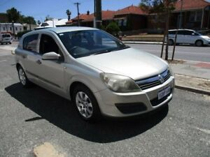 2006 Holden Astra AH MY06 CD Silver 4 Speed Automatic Hatchback West Perth Perth City Area Preview