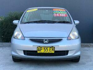 2007 Honda Jazz GD VTi Silver Constant Variable Hatchback
