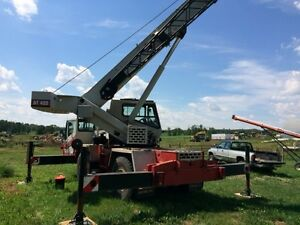 1992 Grove AT422 rough Terrain Crane Edmonton Edmonton Area image 2