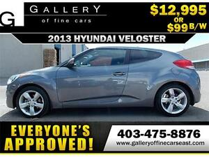 2013 Hyundai Veloster Camera $99 BI-WEEKLY APPLY NOW DRIVE NOW