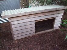 LARGE SINGLE STORY Wooden Timber HUTCH for Rabbit Guinea Pic cage Ringwood Maroondah Area Preview