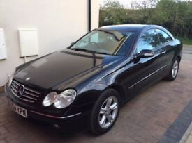 VERY LOW MILEAGE AND VERY CLEAN CLK320