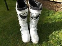 motocross boots fly maverick racing size 12 only used a few times, please Text