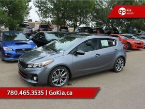 2018 Kia Forte5 SX; NAV, HEATED/COOLED LEATHER SEATS, SUNROOF, A