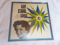 Vinyl LP Kay Starr Sings