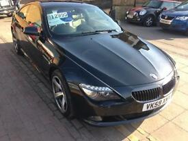 BMW 6 SERIES 635d Sport 2dr Auto [2010] (black) 2009