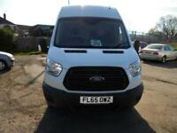 Ford Transit 350 L3 H3 VAN 125PS EURO 5 DIESEL MANUAL WHITE (2015)