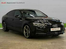 image for 2019 Audi A5 35 Tfsi Black Edition 5Dr S Tronic Auto Hatchback Petrol Automatic