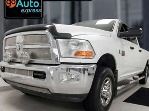 2012 Ram 3500 SLT- White 3500 with power seats and a unique inte