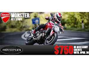 2013-2015 Ducati Monster 821 Stripe END OF MONTH PRICING