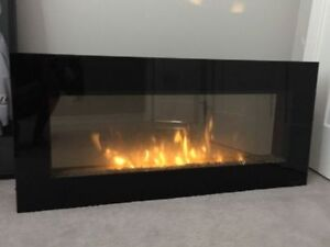 Dimplex Electric Wall Mount Fireplace