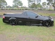 2009 Holden Commodore VE MY10 SS Black 6 Speed Manual Utility Mayfield East Newcastle Area Preview