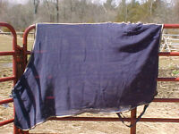 Scrim Sheet Cooler Size Small Horse Navy
