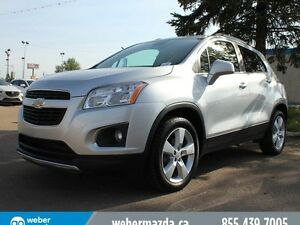 2014 Chevrolet TRAX LTZ - LEATHER - AUTO - B/U CAMERA - BTOOTH
