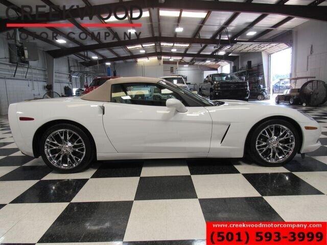 2012 White Chevrolet Corvette Convertible 3LT   C6 Corvette Photo 7