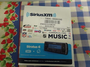 Sirius XM Stratus 6 Radio and Home Kit - Excellent Condition