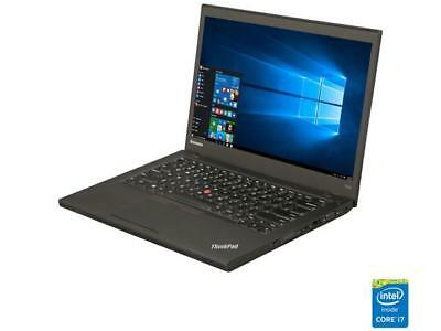 "Lenovo T440S 14.0"" Laptop Intel Core i7 4th Gen 4600U (2.10 GHz) 12 GB Memory"