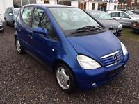 1999 MERCEDES BENZ A CLASS A140 Elegance ACS LOW MILEAGE PRIVATE PLATE
