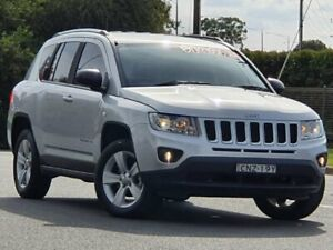 2012 Jeep Compass MK MY13 Sport CVT Auto Stick Silver 6 Speed Constant Variable Wagon Wodonga Wodonga Area Preview