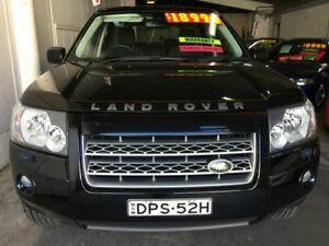 2009 Land Rover Freelander 2 LF TD4 Wagon 4dr Man 6sp 4x4 2.2DT Black Sports Automatic Wagon