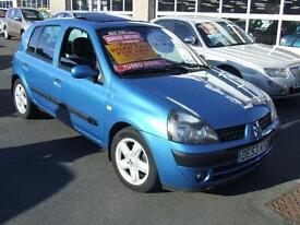 2003 RENAULT CLIO 1.5 dCi Diesel Dynamique 5 Door From GBP1,595 + Retail Package