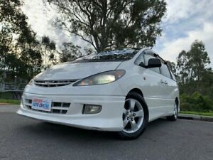 2005 Toyota Estima Premium White 4 Speed Automatic Wagon Kingston Logan Area Preview