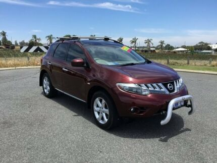 2010 Nissan Murano Z51 TI Sparkling Burgundy Continuous Variable Wagon Wangara Wanneroo Area Preview