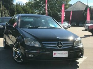 2009 Mercedes-Benz CLC-Class CL203 CLC200 Kompressor Black 5 Speed Automatic Coupe South Toowoomba Toowoomba City Preview