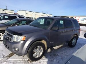 2008 Ford Escape XLT AWD, AUCTION SUNDAY AT 1:00!!