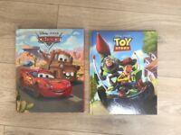 Disney Reading Books - Cars, Toy Story