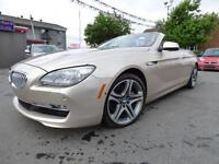 2012 BMW 650I XDRIVE CABRIOLET (AWD, ÉDITION ÉXECUTIVE, WOW!!!)