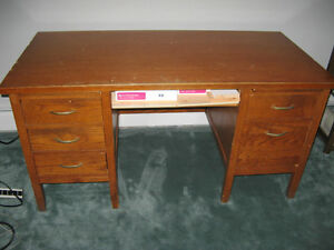 Oak Desk for Sale