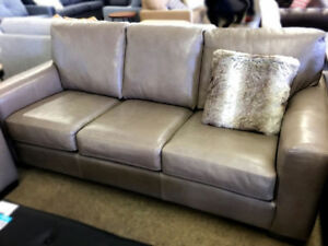 Full Grain Leather Couch. LIQUIDATION SALE