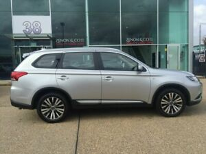 2018 Mitsubishi Outlander ZL MY19 ES AWD Silver 6 Speed Constant Variable Wagon Fyshwick South Canberra Preview