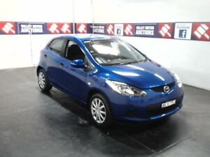 2009 Mazda 2 DE Neo Blue 4 Speed Automatic Hatchback Cardiff Lake Macquarie Area Preview
