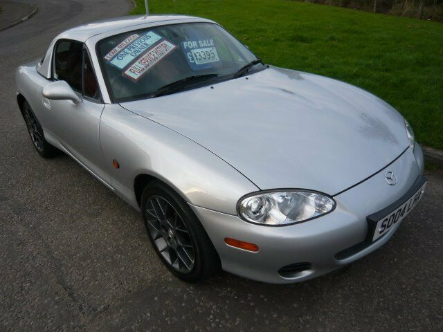 2004 Mazda MX-5 Euphonic 2 dr Convertible Manual with MX5 Factory Hardtop