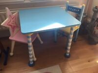 Free Verbaudet children's table and chairs