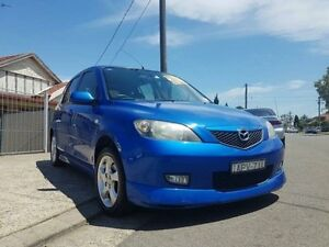 2003 Mazda 2 DY10Y1 Maxx Blue 4 Speed Automatic Hatchback Yagoona Bankstown Area Preview
