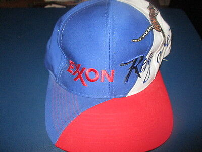 05aa6e07a NWOT Vintage EXXON OIL Rely On The Tiger Red White & Blue Snapback Hat  Sportcap